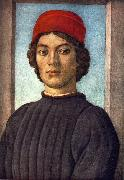 LIPPI, Filippino Portrait of a Youth sg oil painting picture wholesale