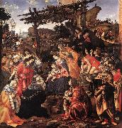 LIPPI, Filippino Adoration of the Magi sg oil painting picture wholesale