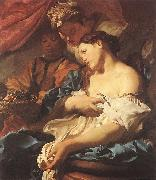 LISS, Johann The Death of Cleopatra sg oil painting picture wholesale