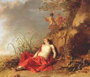 LISSE, Dirck van der Sleeping Nymph sg oil painting picture wholesale