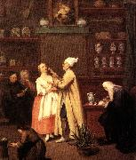 LONGHI, Pietro The Spice-vendor's shop g oil painting picture wholesale