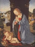 LORENZO DI CREDI The Holy Family g oil painting picture wholesale