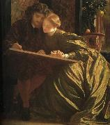 Lord Frederic Leighton The Painter's Honeymoon oil painting artist