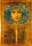 Louis Welden Hawkins Mask oil painting