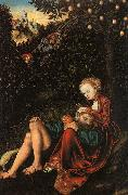 Lucas  Cranach Samson and Delilah oil painting picture wholesale