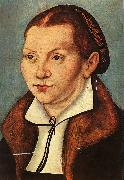 Lucas  Cranach Portrait of Katharina von Boyra oil painting picture wholesale