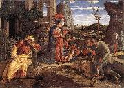MANTEGNA, Andrea The Adoration of the Shepherds sf oil painting picture wholesale