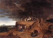 MASSYS, Cornelis Crucifixion dh oil painting artist