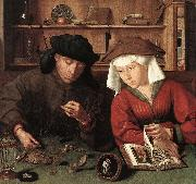 MASSYS, Quentin The Moneylender and his Wife sg oil painting picture wholesale