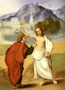 MAZZOLINO, Ludovico The Incredulity of St Thomas sg oil painting artist
