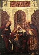 MAZZOLINO, Ludovico Madonna and Child with Saints gw oil painting picture wholesale