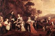 MIJTENS, Jan The Family of Willem Van Der Does s oil painting picture wholesale
