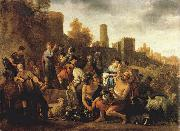 MOEYAERT, Claes Cornelisz. Moses Ordering the Slaughter of the Midianitic ag oil painting picture wholesale