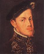 MOR VAN DASHORST, Anthonis Portrait of the Philip II, King of Spain sg oil painting picture wholesale