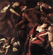 MORAZZONE Martyrdom of Sts Seconda and Rufina dsh oil painting artist