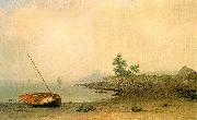 Martin Johnson Heade The Stranded Boat oil painting picture wholesale