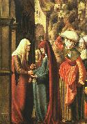 Marx Reichlich The Visitation oil painting artist