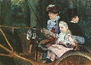 Mary Cassatt Woman and Child Driving oil painting picture wholesale