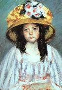 Mary Cassatt Fillette au Grand Chapeau oil painting picture wholesale
