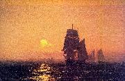 Mauritz F H Haas Into the Sunset oil painting picture wholesale