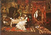 Mihaly Munkacsy Paris Interior oil painting picture wholesale