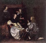 NETSCHER, Caspar The Lace-Maker syy oil painting artist
