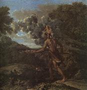 Nicolas Poussin Blind Orion Searching for the Rising Sun oil painting picture wholesale