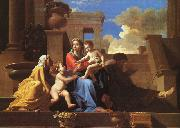 Nicolas Poussin Holy Family on the Steps oil painting picture wholesale