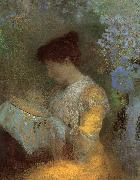 Odilon Redon Madame Arthur Fontaine oil painting reproduction