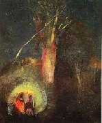 Odilon Redon Flight into Egypt oil painting picture wholesale