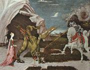 Paolo Ucello St.George and the Dragon oil painting artist