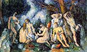 Paul Cezanne The Large Bathers France oil painting reproduction
