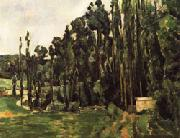 Paul Cezanne Poplar Trees oil painting picture wholesale