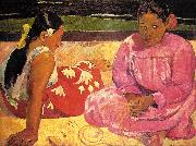 Paul Gauguin Women of Tahiti oil painting