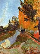 Paul Gauguin The Alyscamps at Arles oil painting picture wholesale