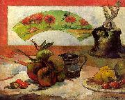 Paul Gauguin Still Life with Fan oil painting picture wholesale