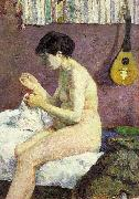 Paul Gauguin Study of a Nude oil painting picture wholesale