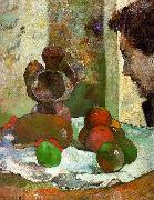 Paul Gauguin Still Life with Profile of Laval France oil painting reproduction