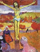 Paul Gauguin The Yellow Christ oil painting picture wholesale
