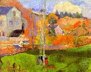 Paul Gauguin Breton Landscape oil painting picture wholesale