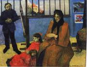 Paul Gauguin The Studio of Schuffenecker(The Schuffenecker Family) oil painting picture wholesale