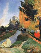 Paul Gauguin The Alysamps oil painting picture wholesale