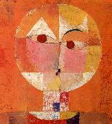 Paul Klee Senecio oil painting artist