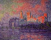 Paul Signac The Papal Palace, Avignon oil painting picture wholesale