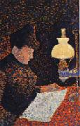 Paul Signac Woman by Lamplight oil painting picture wholesale