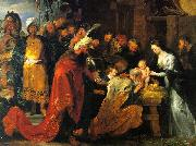 Peter Paul Rubens The Adoration of the Magi oil painting artist