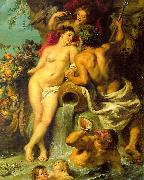 Peter Paul Rubens The Union of Earth and Water oil painting artist