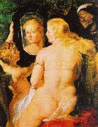 Peter Paul Rubens Venus at a Mirror oil painting artist