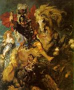 Peter Paul Rubens St George and the Dragon oil painting picture wholesale