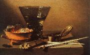 Petrus Christus Still Life with Wine and Smoking Implements oil painting picture wholesale